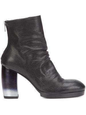 Ботинки по щиколотку Officine Creative. Цвет: чёрный