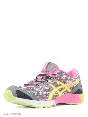 Кроссовки GEL-HYPER TRI ASICS. Цвет: серый, розовый, черный
