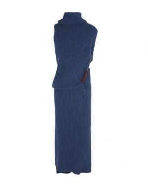 Длинное платье HELEN LAWRENCE. Цвет: темно-синий