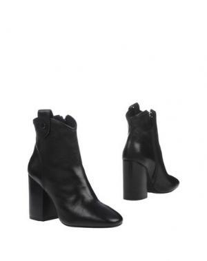 Полусапоги и высокие ботинки G.P. PER NOY BOLOGNA. Цвет: черный