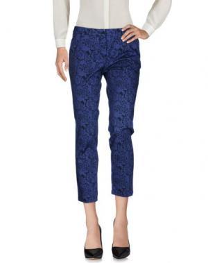 Повседневные брюки CONTE OF FLORENCE. Цвет: синий