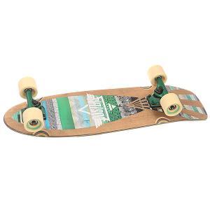 Скейт мини круизер  S6 Cazh Cruiser Tribe 8.75 x 28.5 (72.4 см) Dusters. Цвет: мультиколор