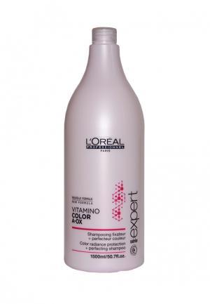 Шампунь-фиксатор цвета LOreal Professional L'Oreal. Цвет: розовый
