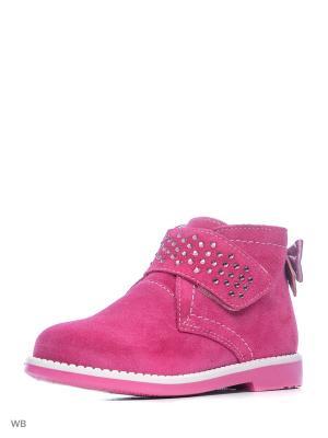 Ботинки ELEGAMI. Цвет: фуксия