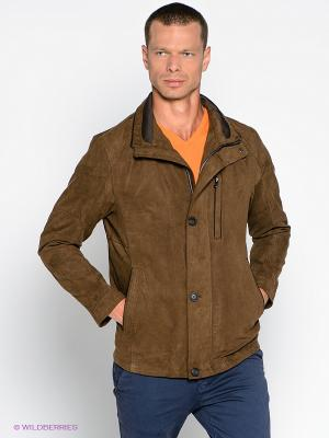 Куртка S4. Цвет: коричневый