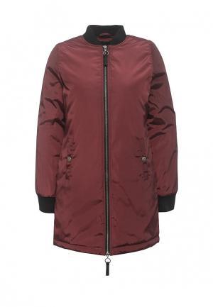 Куртка утепленная Brave Soul. Цвет: бордовый