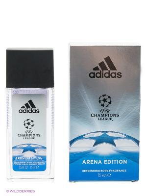 Освежающая парфюмированная вода для мужчин Adidas Arena 75 мл. Цвет: прозрачный