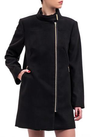 Пальто DIBYE. Цвет: черный