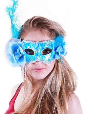 Карнавальная маска Magic Home. Цвет: белый
