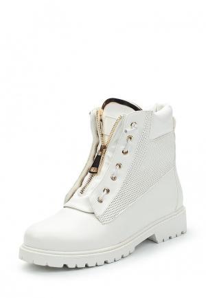 Ботинки Inario. Цвет: белый