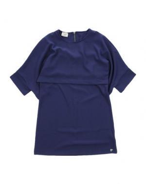 Платье ILLUDIA. Цвет: темно-фиолетовый