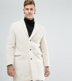 Noose & Monkey Пальто из искусственного меха. Цвет: кремовый