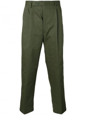 Укороченные брюки Lc23. Цвет: зелёный