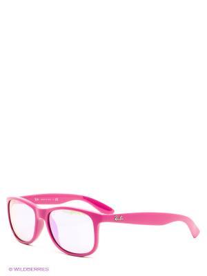 Очки солнцезащитные Ray Ban. Цвет: розовый