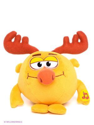 Мягкая игрушка Лосяш Мульти-пульти. Цвет: желтый, оранжевый