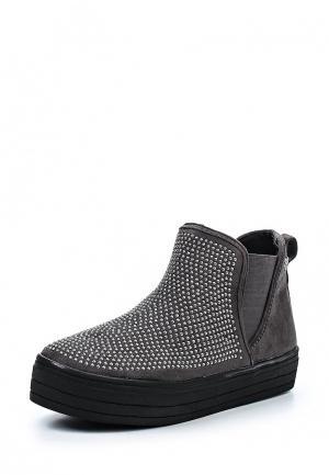 Ботинки Chika10. Цвет: серый