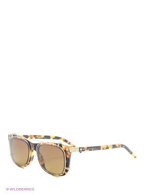 Солнцезащитные очки MARC JACOBS. Цвет: желтый, коричневый