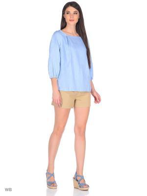 Блузка TACHIQUE. Цвет: голубой