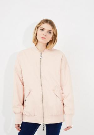 Куртка утепленная Twin-Set Simona Barbieri. Цвет: бежевый