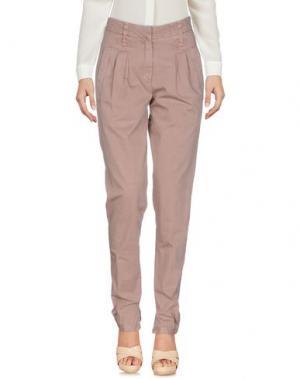 Повседневные брюки GUNEX. Цвет: пастельно-розовый