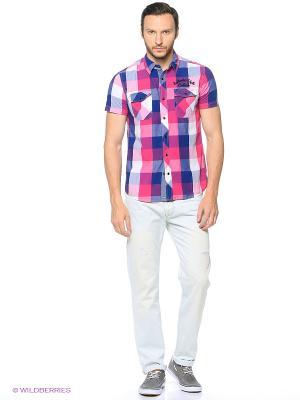 Рубашка Colin's. Цвет: фуксия