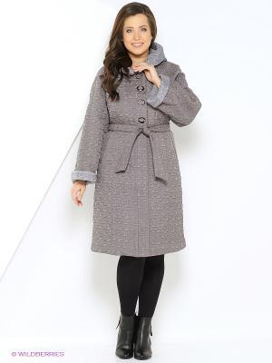 Пальто OSTRICH. Цвет: серо-голубой