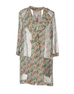 Легкое пальто KRISTINA TI. Цвет: светло-зеленый
