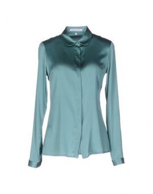 Pубашка WALTER VOULAZ. Цвет: зеленый