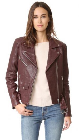 Классическая куртка Jayne VEDA. Цвет: темный изюм