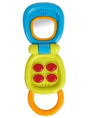 Развивающая игрушка Маленький телефончик BRIGHT STARTS. Цвет: голубой, желтый, красный