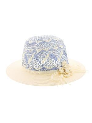 Шляпа R.Mountain. Цвет: голубой, бежевый
