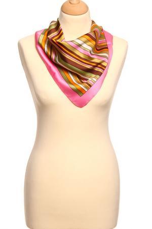 Платок F.FRANTELLI. Цвет: розовый, оранжевый, песочный