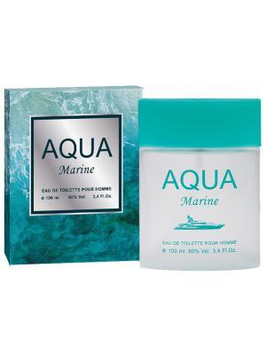 Туалетная вода Aqua Marine (Аква марин) муж. 100мл APPLE PARFUMS. Цвет: прозрачный