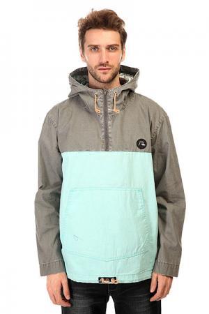 Анорак  Surf Jacket Castlerock Quiksilver. Цвет: серый,голубой