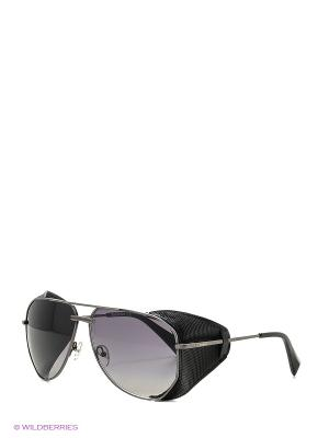 Солнцезащитные очки BLD 1619 101 Baldinini. Цвет: темно-серый, черный