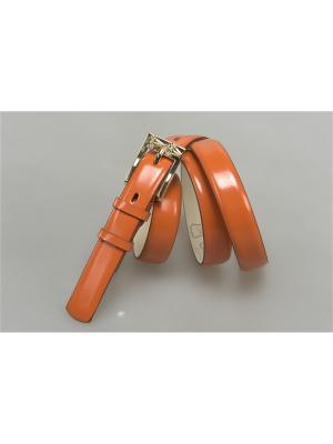 Ремень Olio Rosti. Цвет: оранжевый