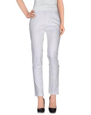 Повседневные брюки FABRIZIO LENZI. Цвет: белый