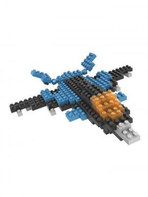 Nano Конструктор Самолет Склад Уникальных Товаров. Цвет: синий
