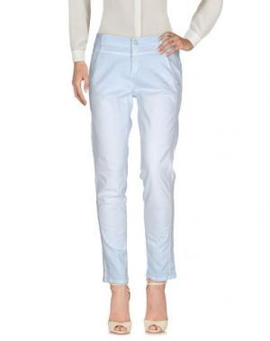 Повседневные брюки CAMBIO. Цвет: небесно-голубой