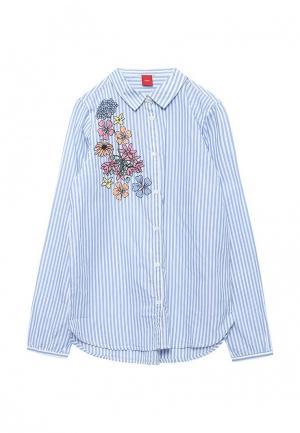 Рубашка s.Oliver. Цвет: голубой