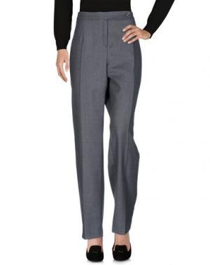 Повседневные брюки ROBERTO QUAGLIA. Цвет: серый
