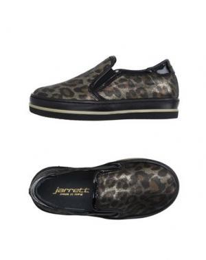 Низкие кеды и кроссовки JARRETT. Цвет: бронзовый