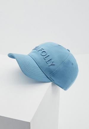 Бейсболка Seafolly Australia. Цвет: голубой
