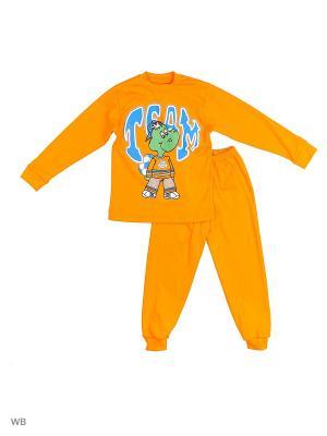 Костюм Babycollection. Цвет: оранжевый