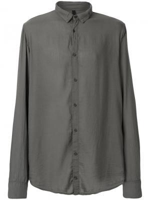 Легкая рубашка Poème Bohémien. Цвет: серый