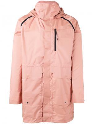 Дождевик свободного кроя Puma. Цвет: розовый и фиолетовый