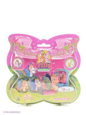 Набор с бабочками Филли Волшебная семья Jack  немецкая версия Dracco. Цвет: розовый