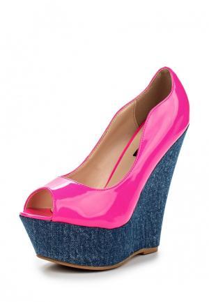 Туфли Fersini. Цвет: розовый