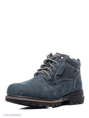 Ботинки Shoiberg. Цвет: серо-голубой