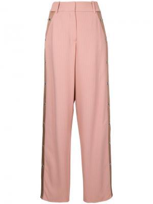 Широкие брюки Sies Marjan. Цвет: розовый и фиолетовый